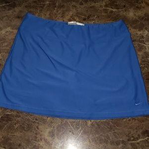 NIKE Womens Court Pure Tennis Skirt Blue Sz Med.